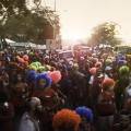 J'Ouvert crowd.