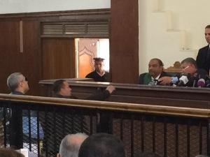 Fahmy being called to stand.  From @reportedly.