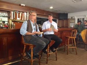 Steven Reiner and Dr. Chapman