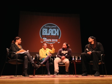 The panel created a place where people could feel comfortable discussing, the often uncomfortable topic of race.