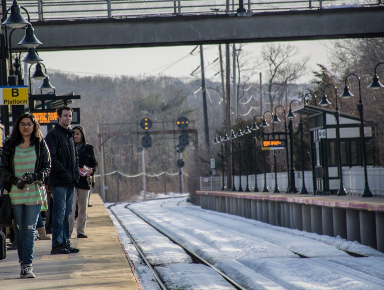 Approximately 60 percent of Stony Brook University students are daily commuters, according to the university's Office of Institutional Research. University students share the train with east-end workers heading home, and unlike Graziano not everyone is so keen on the impending increase. Photo by Melissa Cheri (Feb. 25, 2015).