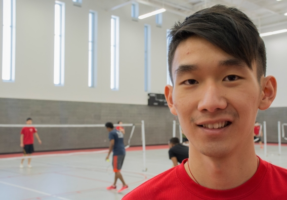 "Jackie Tang, a senior biology major and the president of the Stony Brook University Badminton Club, hopes that students are not afraid to join the club because of inexperience. ""We have all different skill levels and we all have fun,"" Tang said. ""I think it's a good environment to meet new friends and exercise at the same time."""