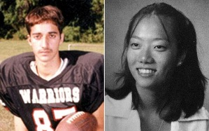 Adnan Syed, left, was sentenced to life in prison for the 1999 murder of Hae Min Lee, right.