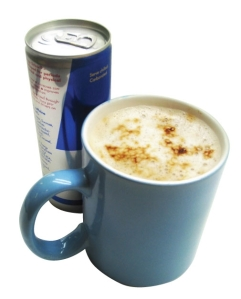 Red Bull and Starbuck's Coffee are the most popular caffeinated beverages on the market.   (Caffeineinformer.com)
