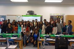Midwood High School's 4-H club.